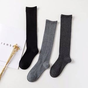 Accessories - Japanese style cotton knee socks - 1 pair
